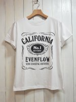 【EVEN FLOW】J/D TEE(WHITE)
