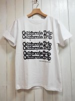 【EVEN FLOW】California Trip TEE(WHITE)