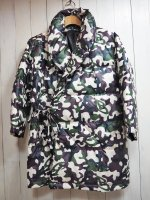 【Burnout】GOWN type DOWN JKT(CAMO)