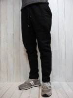 【Magine】BACK BRUSHED URAKE SWEAT CROPPED PANTS(BLACK)