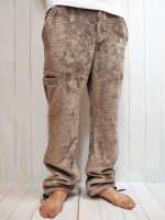 【Burnout】LONG BOA EASY PANTS(CAPPUCCINO)