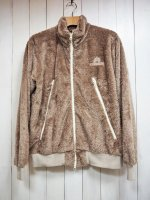【Burnout】LONG BOA BLOUSON(CAPPUCCINO)