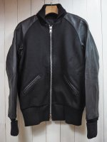 【SKOOKUM】別注 AWARD JACKET MELTON/LEATHER SLEEVE