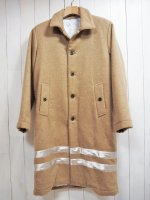 【Burnout】MELTON LONG COAT(CAMEL)