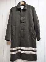 <img class='new_mark_img1' src='//img.shop-pro.jp/img/new/icons34.gif' style='border:none;display:inline;margin:0px;padding:0px;width:auto;' />【Burnout】MELTON LONG COAT(KHAKI)