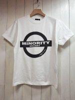 ★再入荷【JOHNNY BUSINESS】Minority Holiday T-Sh(WHITE)