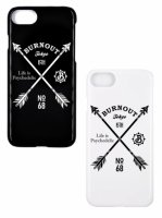 【Burnout】15th Anniversary Crossed Arrows iphone 8 CASE/2色展開