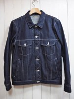 <img class='new_mark_img1' src='//img.shop-pro.jp/img/new/icons41.gif' style='border:none;display:inline;margin:0px;padding:0px;width:auto;' />【Burnout】RIGID DENIM G-JKT