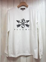 <img class='new_mark_img1' src='//img.shop-pro.jp/img/new/icons14.gif' style='border:none;display:inline;margin:0px;padding:0px;width:auto;' />【Burnout】CROSSED ARROWS L/S T-SHIRT(WHITE)