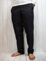 【RED CAP】CHEF PANTS(BLACK)