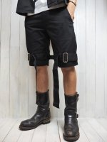 【JOHNNY BUSINESS】Enslave Black Short Pants