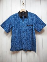 <img class='new_mark_img1' src='//img.shop-pro.jp/img/new/icons14.gif' style='border:none;display:inline;margin:0px;padding:0px;width:auto;' />【JOHNNY BUSINESS】Minority Shirts(INDIGO)