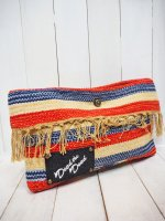 【DEAD THE DEAD】REMAKE NATIVE BLANKET CLUTCH BAG