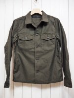 <img class='new_mark_img1' src='//img.shop-pro.jp/img/new/icons14.gif' style='border:none;display:inline;margin:0px;padding:0px;width:auto;' />【Magine】SULFUR BACKSATIN MILITARY SHIRTS