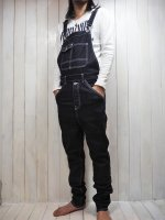 ★再入荷【Burnout】SAROUEL STRETCH DENIM OVERALL