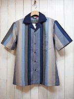 【Special】GUAYABERA SHIRT(BLUE STRIPE)