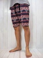 【Burnout】NATIVE SAROUEL SHORT PANTS