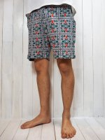 <img class='new_mark_img1' src='//img.shop-pro.jp/img/new/icons41.gif' style='border:none;display:inline;margin:0px;padding:0px;width:auto;' />【Burnout】NORDIC JQ QUILT EASY SHORT PANTS