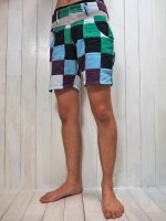 <img class='new_mark_img1' src='//img.shop-pro.jp/img/new/icons41.gif' style='border:none;display:inline;margin:0px;padding:0px;width:auto;' />【Burnout】PATCHWORK SURF SHORTS