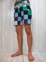【Burnout】PATCHWORK SURF SHORTS