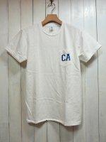 【VELVA SHEEN】CA S/S C/N TEE W/PK(WHITE)