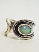 <img class='new_mark_img1' src='//img.shop-pro.jp/img/new/icons14.gif' style='border:none;display:inline;margin:0px;padding:0px;width:auto;' />【KETO】ETHIOPIAN OPAL RING C (M)