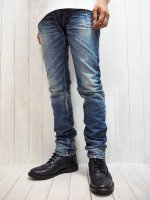 【STRUM】13oz. SELVEDGE USED DENIM PANTS(INDIGO)