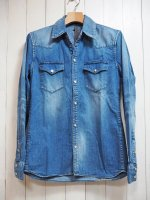 <img class='new_mark_img1' src='//img.shop-pro.jp/img/new/icons14.gif' style='border:none;display:inline;margin:0px;padding:0px;width:auto;' />【STRUM】8oz. DENIM SHIRT