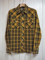 <img class='new_mark_img1' src='//img.shop-pro.jp/img/new/icons14.gif' style='border:none;display:inline;margin:0px;padding:0px;width:auto;' />【AYUITE】SW CHECK SHIRT(YELLOW)
