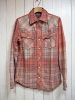 【AYUITE】SW CHECK SHIRT(USED PINK)