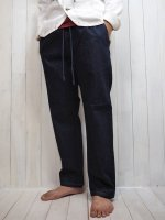 【FIVE BROTHER】DENIM EASY PANTS(BLUE)