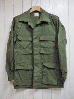 【Tactical】DEADSTOCK MILITARY BDU ARMY SHIRT 1981(OLIVE)