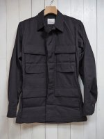 【Tactical】DEADSTOCK MILITARY BDU SHIRT 357(BLACK)