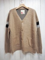 【SEVESKIG】 MOHAIR BRUSHED CHECKER GOWN(BEIGE)