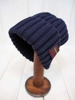 【FIVE BROTHER】COTTON KNIT CAP(NAVY)