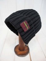 <img class='new_mark_img1' src='https://img.shop-pro.jp/img/new/icons14.gif' style='border:none;display:inline;margin:0px;padding:0px;width:auto;' />【FIVE BROTHER】COTTON KNIT CAP(BLACK)