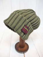 【FIVE BROTHER】COTTON KNIT CAP(OLIVE)