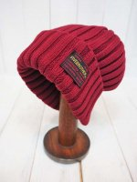 【FIVE BROTHER】COTTON KNIT CAP(BURGUNDY)