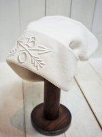 【Burnout】CROSSED ARROWS KNIT CAP(WHITE)