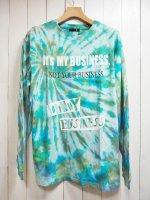 【JOHNNY BUSINESS】Tie-dye dyeing L/S T-SH