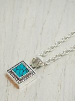 <img class='new_mark_img1' src='https://img.shop-pro.jp/img/new/icons14.gif' style='border:none;display:inline;margin:0px;padding:0px;width:auto;' />【JOHNNY BUSINESS】High Punks Stone Necklace(Turquoise)