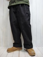 【HIROYUKI OBARA】2TUCK 6P PANTS(BLACK)