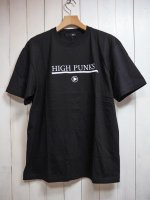 【JOHNNY BUSINESS】HIGH PUNKS T-SH(BLACK)