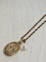 ☆予約商品【amp japan】BRASS MARIA LOCKET NECKLACE