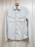 <img class='new_mark_img1' src='https://img.shop-pro.jp/img/new/icons14.gif' style='border:none;display:inline;margin:0px;padding:0px;width:auto;' />【AYUITE】SW SOFT DENIM SHIRT(BLEACH)