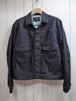 【HIROYUKI OBARA】SOFT STRETCH DENIM JACKET(INDIGO)