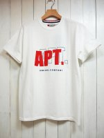 <img class='new_mark_img1' src='https://img.shop-pro.jp/img/new/icons14.gif' style='border:none;display:inline;margin:0px;padding:0px;width:auto;' />【SEVESKIG】APT T-SHIRT(WHITE)
