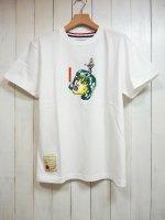 【SEVESKIG】GIRL T-SHIRT(WHITE)