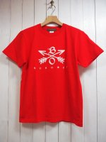 【Burnout】2020 CROSSED ARROWS T-SH(RED)