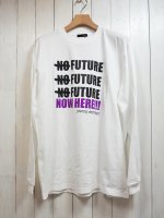 【JOHNNY BUSINESS×Morning Glow】NOW HERE L/S Tee